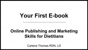 Your First eBook